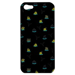 Cactus Pattern Apple Iphone 5 Hardshell Case by ValentinaDesign