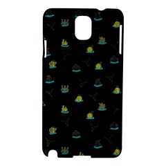 Cactus Pattern Samsung Galaxy Note 3 N9005 Hardshell Case by ValentinaDesign