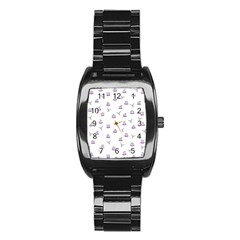 Cactus Pattern Stainless Steel Barrel Watch by ValentinaDesign