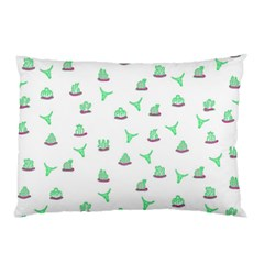 Cactus Pattern Pillow Case by ValentinaDesign