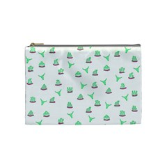 Cactus Pattern Cosmetic Bag (medium)  by ValentinaDesign