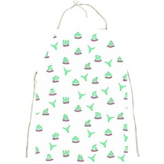Cactus Pattern Full Print Aprons by ValentinaDesign