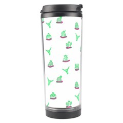 Cactus Pattern Travel Tumbler by ValentinaDesign