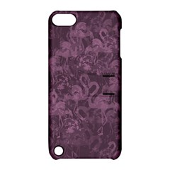Flamingo Pattern Apple Ipod Touch 5 Hardshell Case With Stand by ValentinaDesign