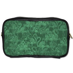 Flamingo Pattern Toiletries Bags by ValentinaDesign