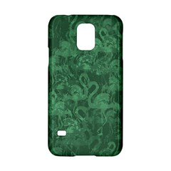 Flamingo Pattern Samsung Galaxy S5 Hardshell Case  by ValentinaDesign