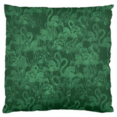 Flamingo Pattern Standard Flano Cushion Case (one Side) by ValentinaDesign