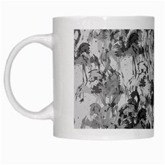 Flamingo Pattern White Mugs by ValentinaDesign