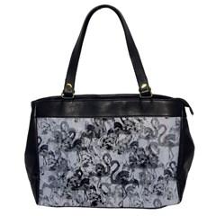 Flamingo Pattern Office Handbags by ValentinaDesign