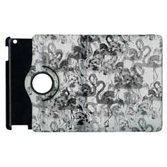 Flamingo Pattern Apple Ipad 3/4 Flip 360 Case by ValentinaDesign