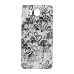 Flamingo Pattern Samsung Galaxy Alpha Hardshell Back Case by ValentinaDesign