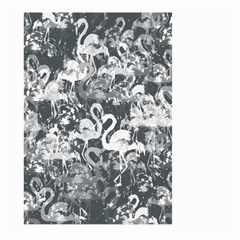 Flamingo Pattern Large Garden Flag (two Sides) by ValentinaDesign