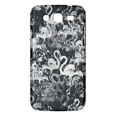 Flamingo Pattern Samsung Galaxy Mega 5 8 I9152 Hardshell Case  by ValentinaDesign
