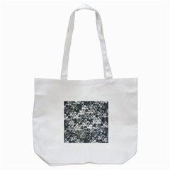 Flamingo Pattern Tote Bag (white) by ValentinaDesign