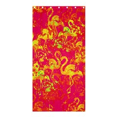 Flamingo Pattern Shower Curtain 36  X 72  (stall)  by ValentinaDesign