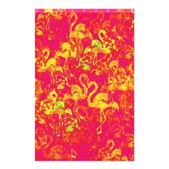 Flamingo Pattern Shower Curtain 48  X 72  (small)  by ValentinaDesign