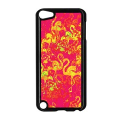 Flamingo Pattern Apple Ipod Touch 5 Case (black) by ValentinaDesign