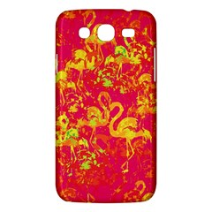 Flamingo Pattern Samsung Galaxy Mega 5 8 I9152 Hardshell Case  by ValentinaDesign