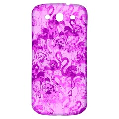 Flamingo Pattern Samsung Galaxy S3 S Iii Classic Hardshell Back Case by ValentinaDesign