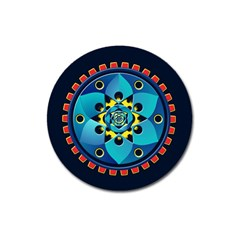 Abstract Mechanical Object Magnet 3  (round)