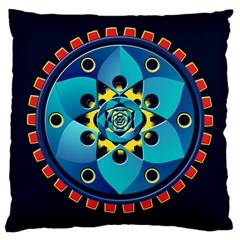 Abstract Mechanical Object Large Cushion Case (one Side)