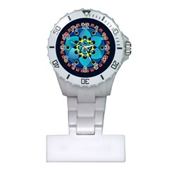 Abstract Mechanical Object Plastic Nurses Watch