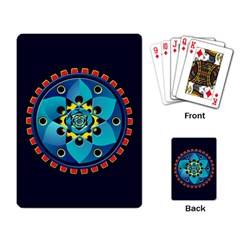 Abstract Mechanical Object Playing Card