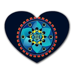 Abstract Mechanical Object Heart Mousepads by linceazul