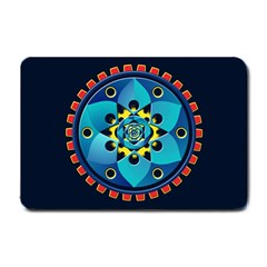 Abstract Mechanical Object Small Doormat
