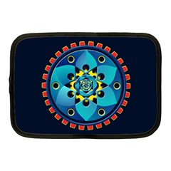 Abstract Mechanical Object Netbook Case (medium)