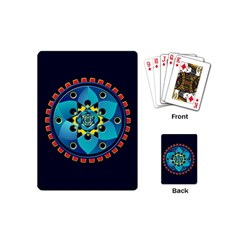 Abstract Mechanical Object Playing Cards (mini)