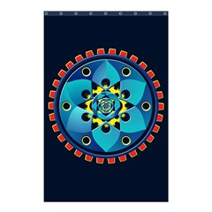 Abstract Mechanical Object Shower Curtain 48  X 72  (small)