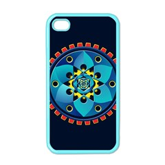 Abstract Mechanical Object Apple Iphone 4 Case (color)