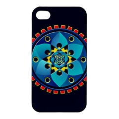 Abstract Mechanical Object Apple Iphone 4/4s Premium Hardshell Case