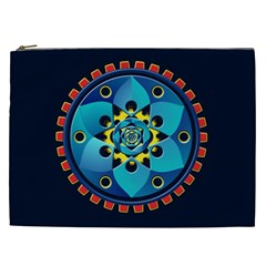 Abstract Mechanical Object Cosmetic Bag (xxl)