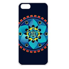Abstract Mechanical Object Apple Iphone 5 Seamless Case (white)