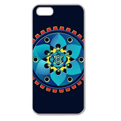 Abstract Mechanical Object Apple Seamless Iphone 5 Case (clear)
