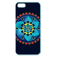 Abstract Mechanical Object Apple Seamless Iphone 5 Case (color)