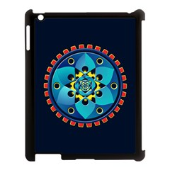 Abstract Mechanical Object Apple Ipad 3/4 Case (black)