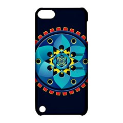 Abstract Mechanical Object Apple Ipod Touch 5 Hardshell Case With Stand