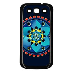 Abstract Mechanical Object Samsung Galaxy S3 Back Case (black)