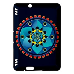 Abstract Mechanical Object Kindle Fire Hdx Hardshell Case by linceazul