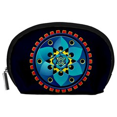 Abstract Mechanical Object Accessory Pouches (large)