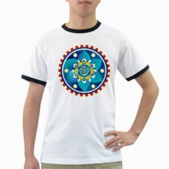 Abstract Mechanical Object Ringer T Shirts