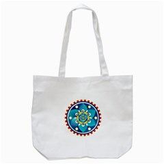 Abstract Mechanical Object Tote Bag (white)