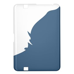 Blue White Hill Kindle Fire Hd 8 9  by Mariart