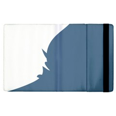 Blue White Hill Apple Ipad Pro 12 9   Flip Case by Mariart