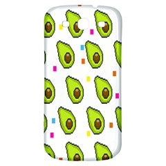 Avocado Seeds Green Fruit Plaid Samsung Galaxy S3 S Iii Classic Hardshell Back Case by Mariart