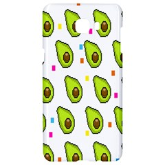 Avocado Seeds Green Fruit Plaid Samsung C9 Pro Hardshell Case