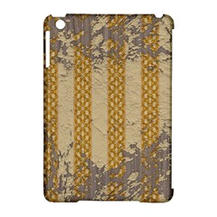 Wall Paper Old Line Vertical Apple Ipad Mini Hardshell Case (compatible With Smart Cover) by Mariart
